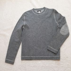 Express lambswool sweater w/ elbow patches S